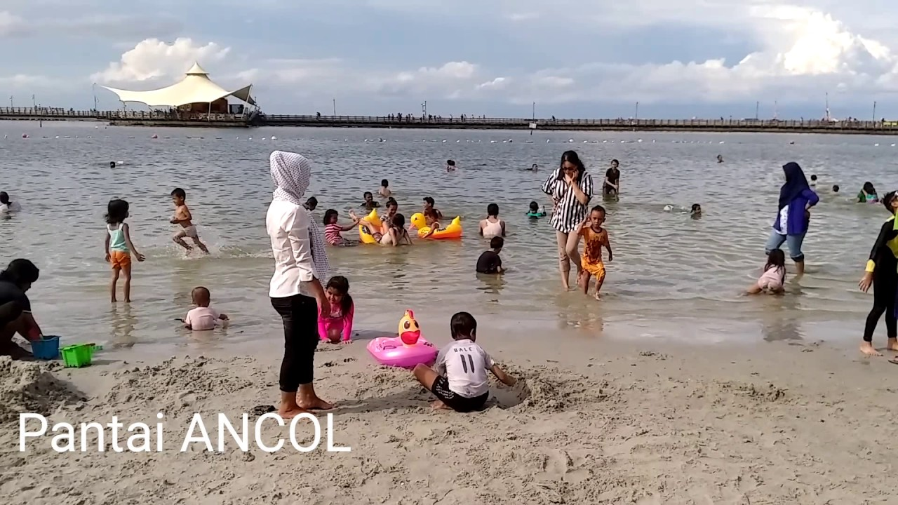Wisata Pantai Ancol Jakarta Youtube