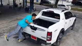 รีวิว ฝาปิดกระบะอลูมิเนียมRollerUp & สปริงโช๊คฝาท้ายProlift & บันไดท้ายกระบะTstep : Chevrolet