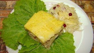 Картофельная запеканка с фаршем(Вкусная домашняя запеканка, приготовленная из картофельного пюре и поджаренного фарша. Готовить запеканку..., 2014-01-28T06:50:09.000Z)