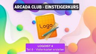 Logoist 4 - Teil 8: Visitenkarten erstellen
