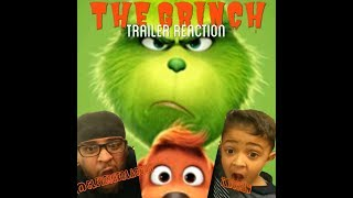 The Grinch Trailer Reaction