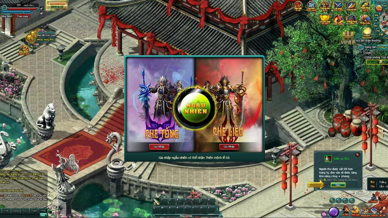 Top 1  Webgame  |  Lậu Việt Hóa Free 1 tỷ KNB | Hướng Dẫn Cơ Bản A -Z Tập 1