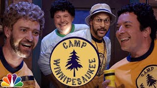 Camp Winnipesaukee with Justin Timberlake, Keegan-Michael Key and Billy Crystal