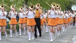 京都橘高等学校 吹奏楽部 ブルーメンパレード2016 午後の部 Kyoto Tachibana SHS Band