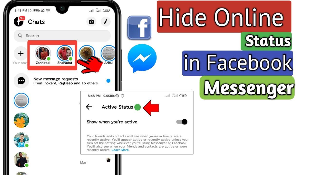 Facebook Messenger Status