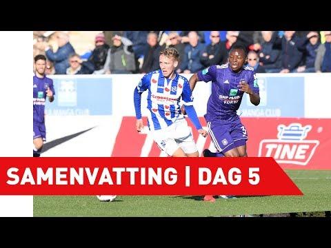 Samenvatting RSC Anderlecht - sc Heerenveen