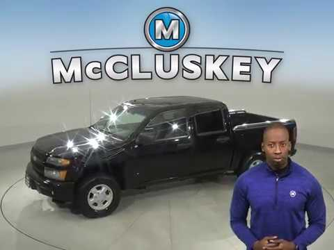 A16395YT Used 2006 Chevrolet Colorado Black Truck Test Drive, Review, For Sale -