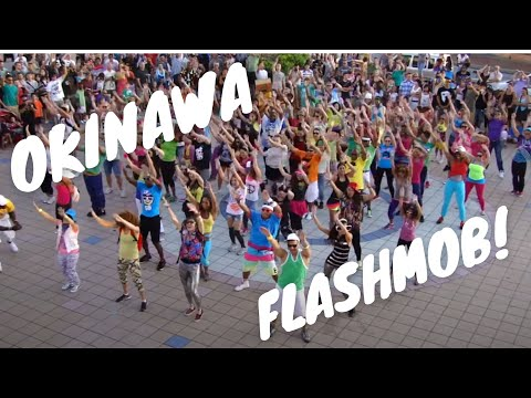 ##OKI FLaSH MOB## . LMFAO Party Rock Anthem