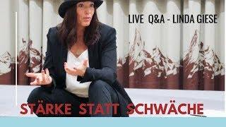 Mache deine Schwachen zu Starken - Live Q&A Linda Giese