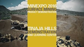 Cat® Surface Mining Product Demo - MINExpo 2016