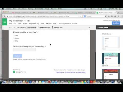 How To Use Google Forms To Create A Survey