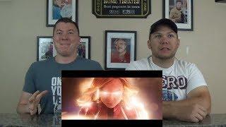 Captain Marvel - Official Trailer REACTION!!!