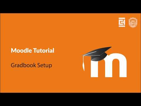 Moodle Tutorial - Gradebook Setup
