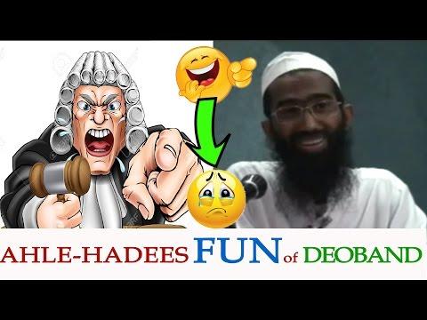 Ahle Hadees make FUN of Deobandi or Themselves? Salafi vs Sunni | Abu Zaid Zameer Exposed on debate