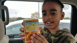 Unboxing pokemon package part #1