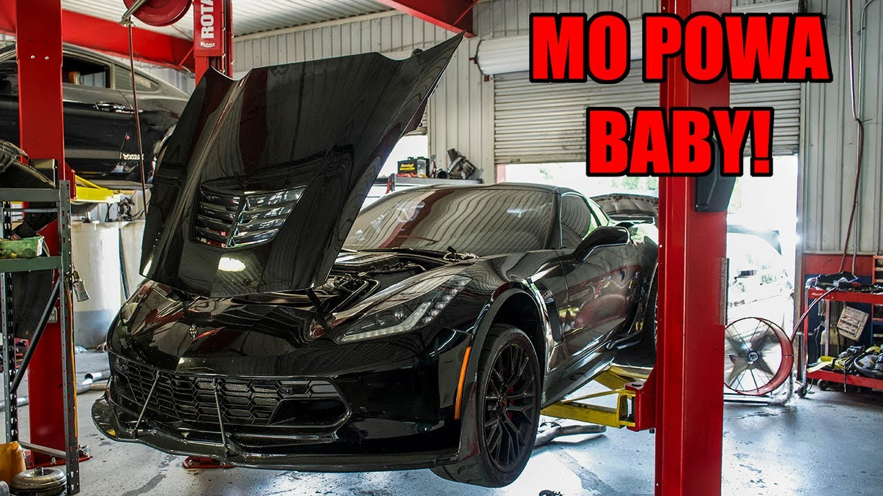 Dropping My Corvette Z06 Off For MODIFICATIONS!! (MO POWA BABY!)