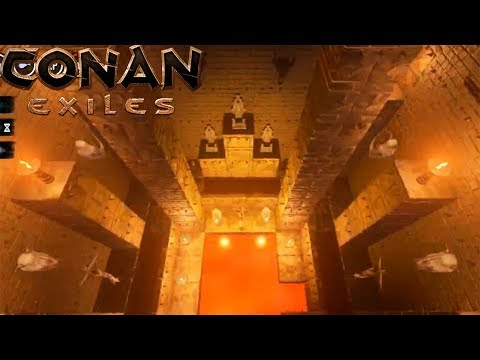 Conan Exiles  Building a Lava Tower 300%