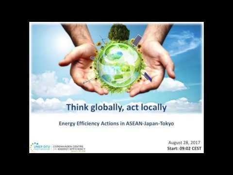 Energy Efficiency Actions in ASEAN - Japan - Tokyo