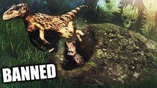 The Isle - BANNED! - Raptor Nest Invade Update Is Epic! - #TheIsle Gameplay