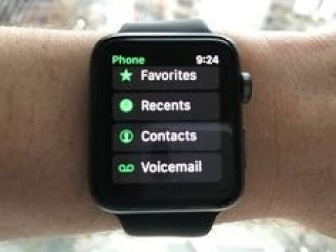 How to Delete Recent Calls On Apple Watch