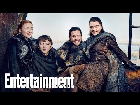 GOT: Kit Harrington, Sophie Turner, Isaac Hempstead Wright Talk Spinoff Ideas | Entertainment Weekly