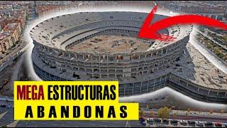 Top 4 MEGA Estructuras Abandonadas en España | Mega proyectos ES