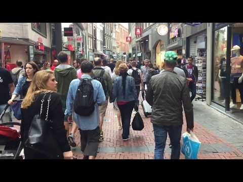 Amsterdam, Netherlands I Top Tourist attractions I Walking & Driving downtown