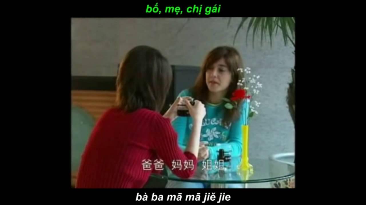 301 Câu Đàm Thoại Tiếng Hoa bài 1-10 [ phiên âm + vietsub ] Học tiếng trung qua phim