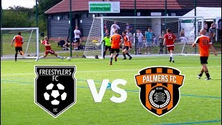 FREESTYLERS FC vs PALMERS FC | YouTube Face Off