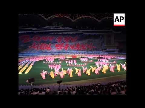 Start of massive dance spectacle Arirang Games