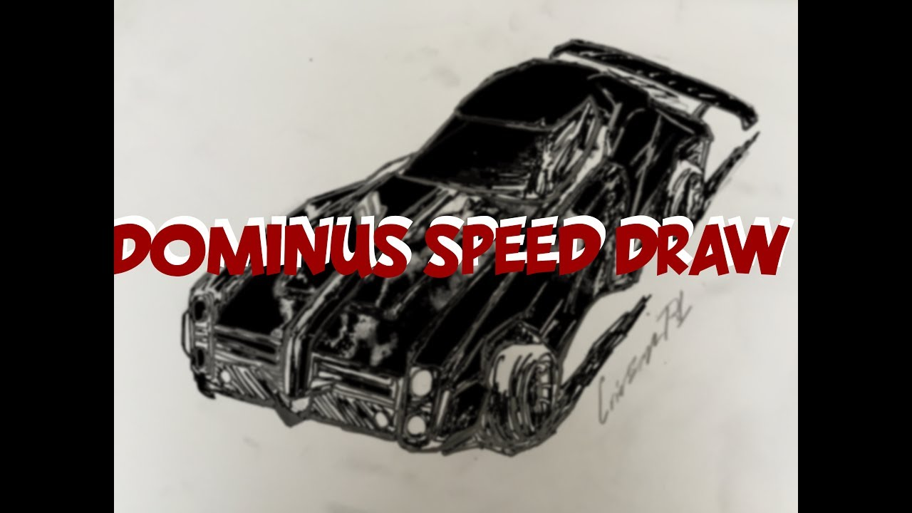 Dominus Speed Draw Rocket League Sketch Youtube It could originally be obtained through the champion 1 crate and was later added to the player's choice crate. youtube