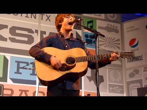 """Slide"" - Jake Bugg (Radio Day Stage, SXSW 2013, Austin)"