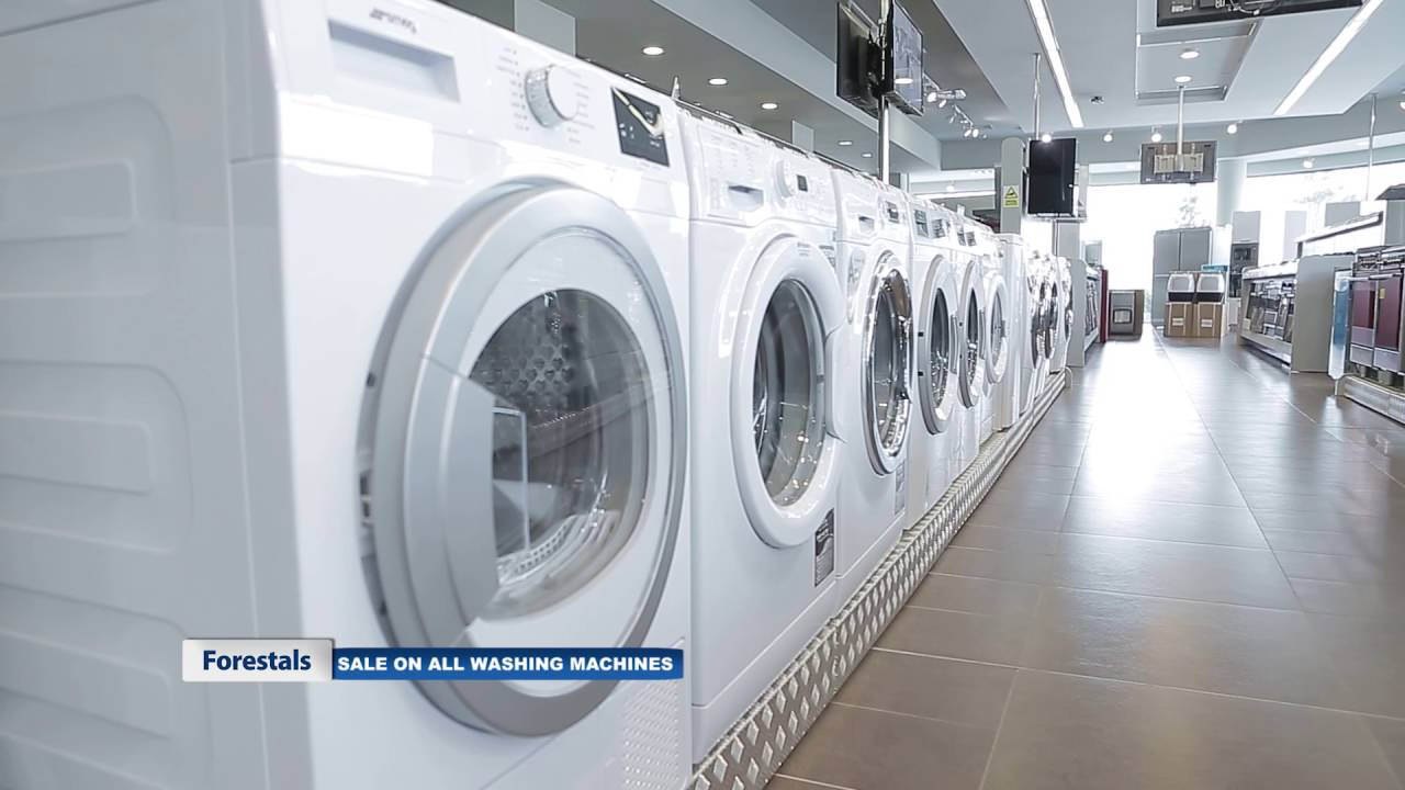 sale on washing machines at the forestals showroom in mriehel prices from just eur399 youtube