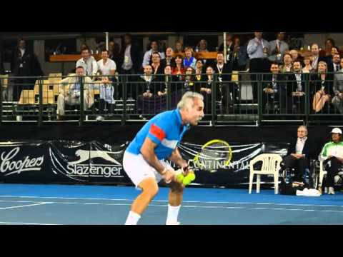 Bahrami   World Tennis Challenge Adelaide 2012