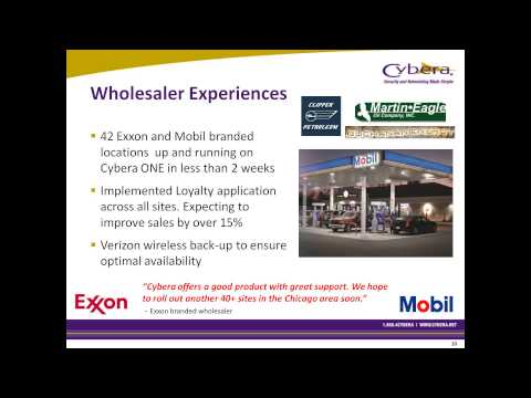 201302-13 11.00 Cybera Payment and Loyalty Solution for Energy North_s Exxon and Mobil Branded Locat