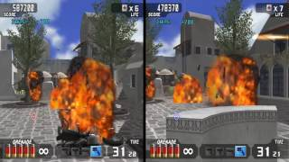 Time Crisis 3 (Pcsx2 build) Co-op/Split-screen OpenGL Hw
