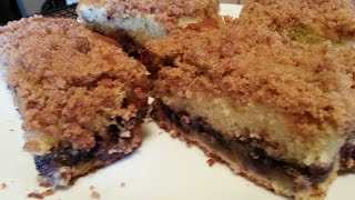 The Best Ever Streusel Crumb Cake!