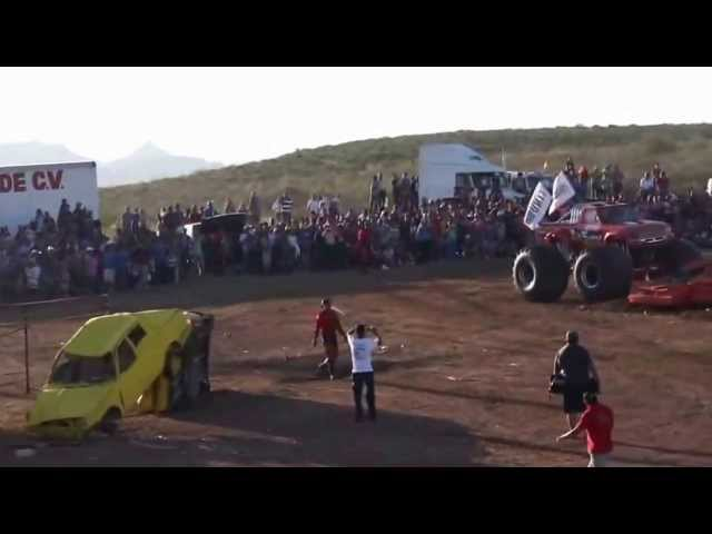 Lamentable y Fatal Accidente Monster Truck  AeroShow Mueren niños y adultos en Chihuahua 2013 Videos De Viajes