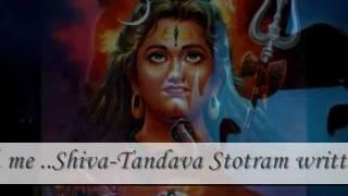 Shiva-Tandava Stotram written by Ravana - Happy Mahashivaratri