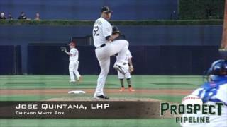 Jose Quintana, LHP, Chicago White Sox,Pitching Mechanics at 200 FPS