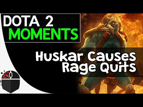 Dota 2 Moments - Huskar Causes Rage Quits