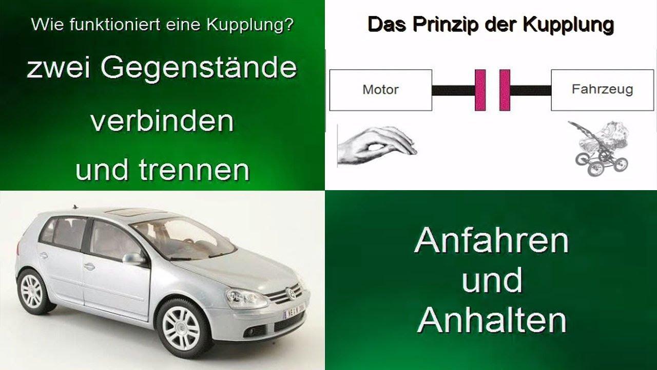 Wie funktioniert die Kupplung im Auto eigentlich ? - YouTube