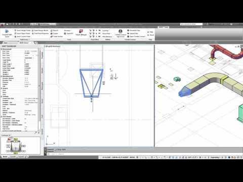 Trimble DuctDesigner 3D - Managing Duct Routing