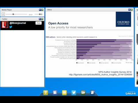 An Open Access Webcast from Library Journal and Oxford Unive