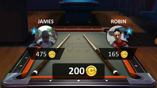 Video review of Pool Stars by Giraffe Games, on Android.