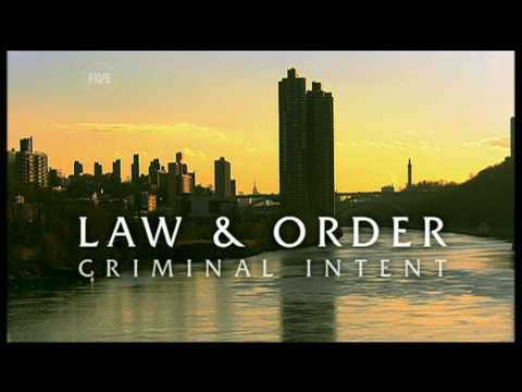 Law & Order Criminal Intent opening titles season 4 (Five UK version)