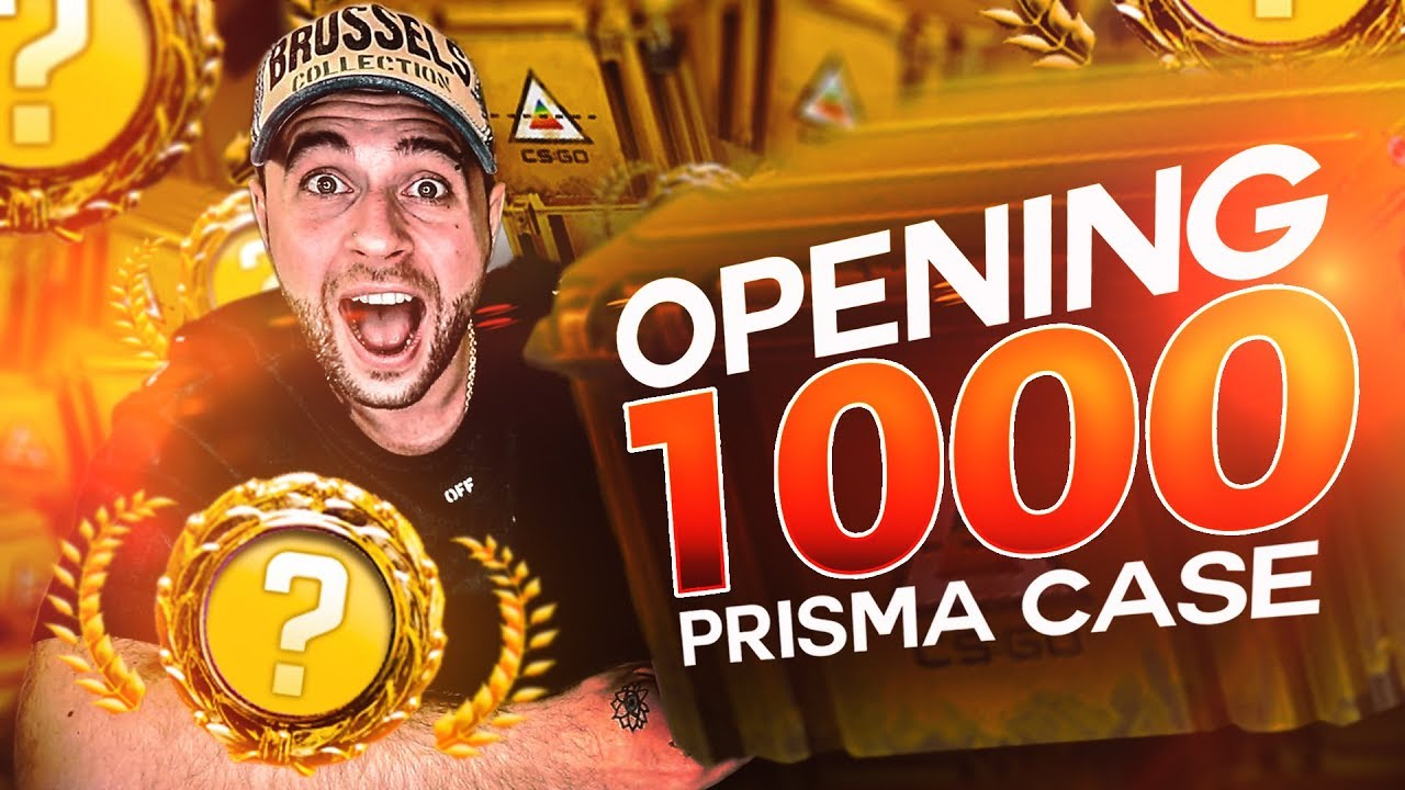 I OPENED 1,000 CSGO PRISMA CASES.. so you dont have to.