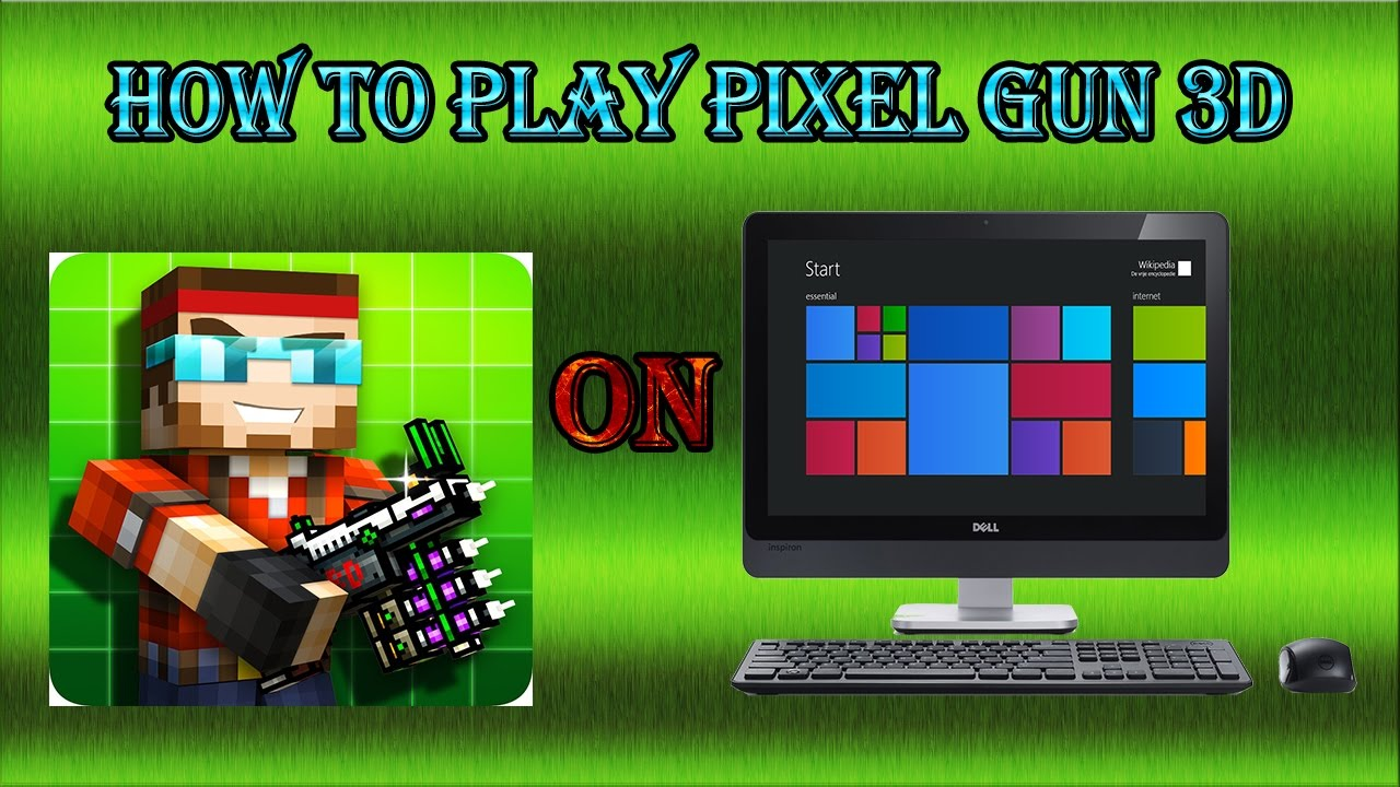 how to play pixel gun 3d on chromebook