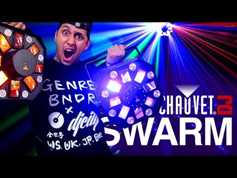 DJ Light Review: Chauvet Swarm Wash FX VS Swarm FX | Best DJ Light For New DJs