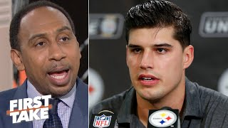 Mason Rudolph should've been suspended for the Myles Garrett fight - Stephen A. | First Take